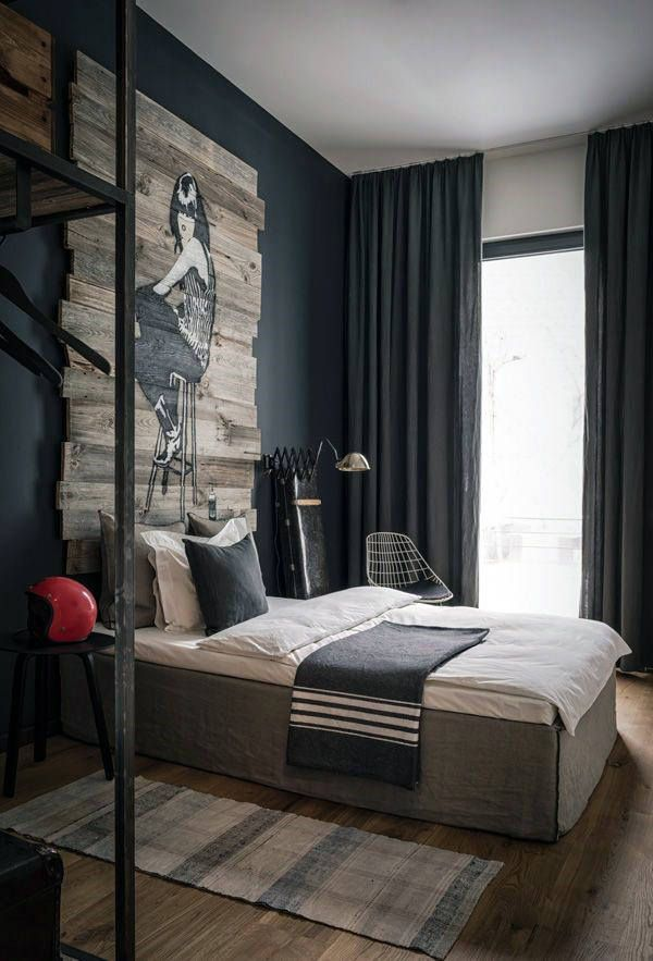 60 Men S Bedroom Ideas Masculine Interior Design Inspiration In 2020 Bedroom Interior Home Decor Bedroom Bachelor Pad Bedroom