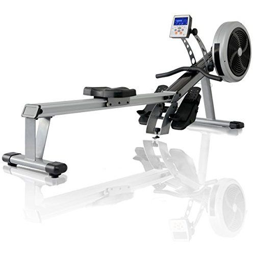 JTX Freedom Air Rower  Foldable Superior Rowing Machine + Wireless Chest  Strap. 2 YEAR IN-HOME SERVICE WARRANTY  dcef1710d