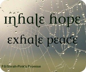 Marvelous Inhale Hope...exhale Peace. Picture Quote To Copy/paste/share