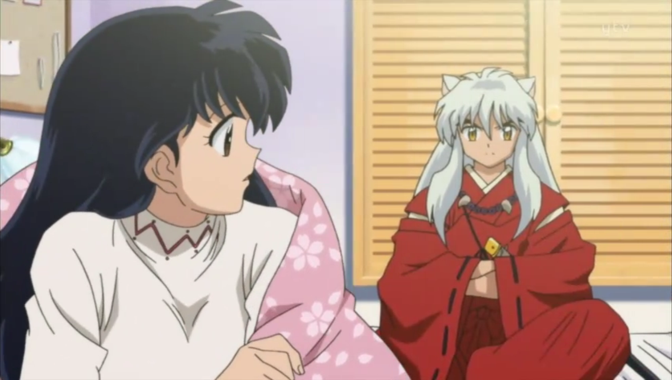 Inuyasha And Kagome Married Episode Kagome and inuyasha ...