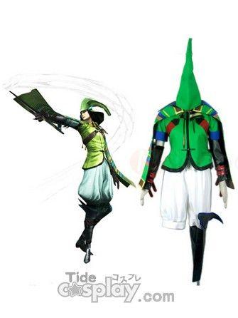 New Devil Kings Sengoku Basara 2 Mori Motonari Kahz Cosplay Costume
