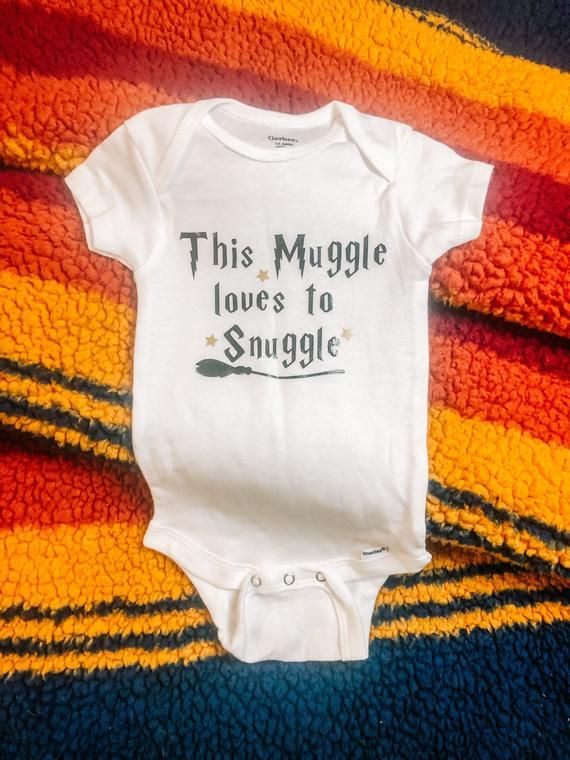 This Muggle Loves to Snuggle Baby Onesie