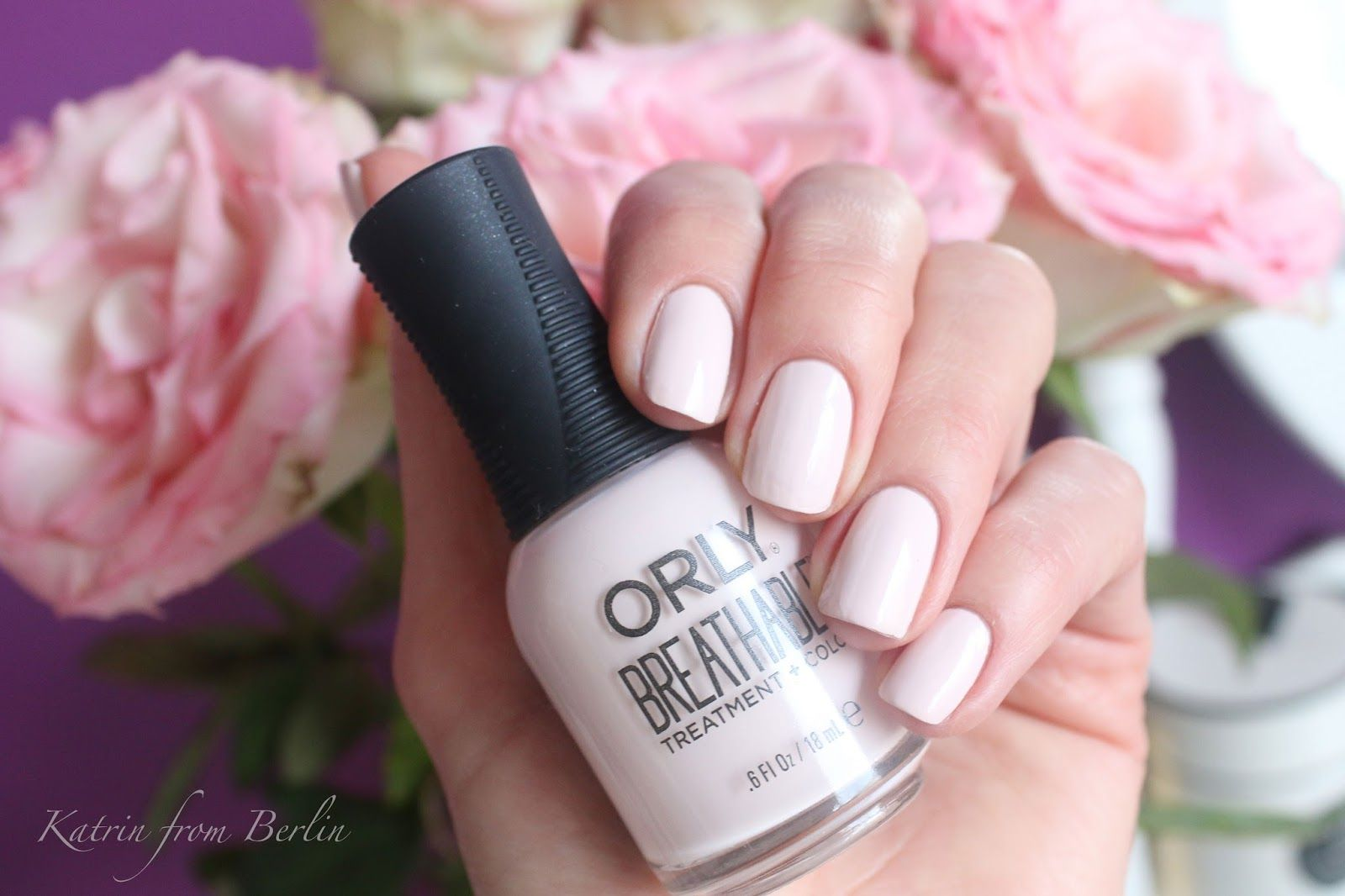 orly breathable rehab swatch - Katrin from Berlin | Nail polish ...
