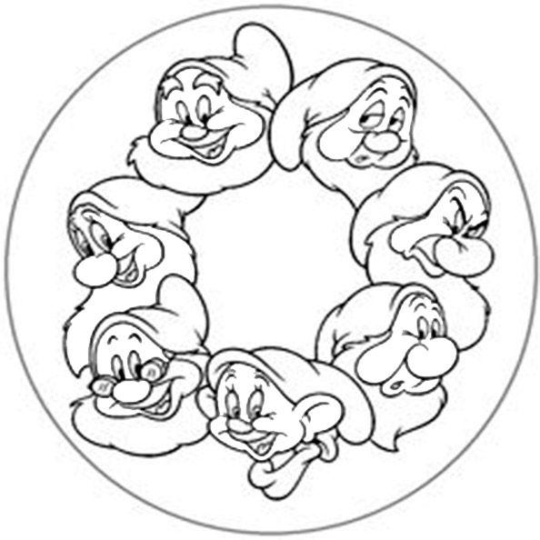 disney 7  mandala malvorlagen märchen basteln disney