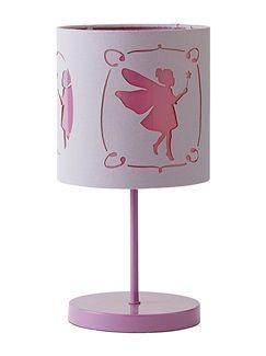 Lampe de chevet fille thème fée  - vertbaudet enfant