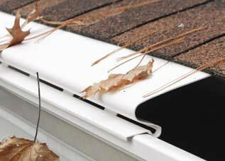 Our Gutter Dome Products Are Fastens To The Front Lip Of Your Existing Rain Gutters With Self Drilling Screws Gutter Guard House In The Woods Home Maintenance