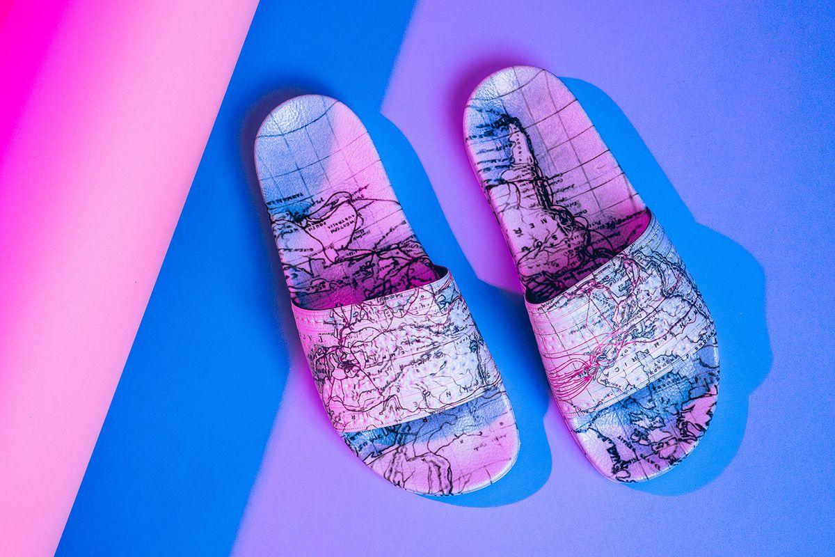 Eddie Huang x adidas Originals Superstar & adilette UE kicks