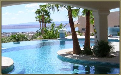 Swimming Pool Water Features Advantage Pools Lake Havasu Custom Builder Gunite