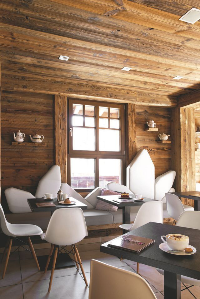 Chamonix : hôtel design, Restaurant déco | Negocios lindos | Chalet ...