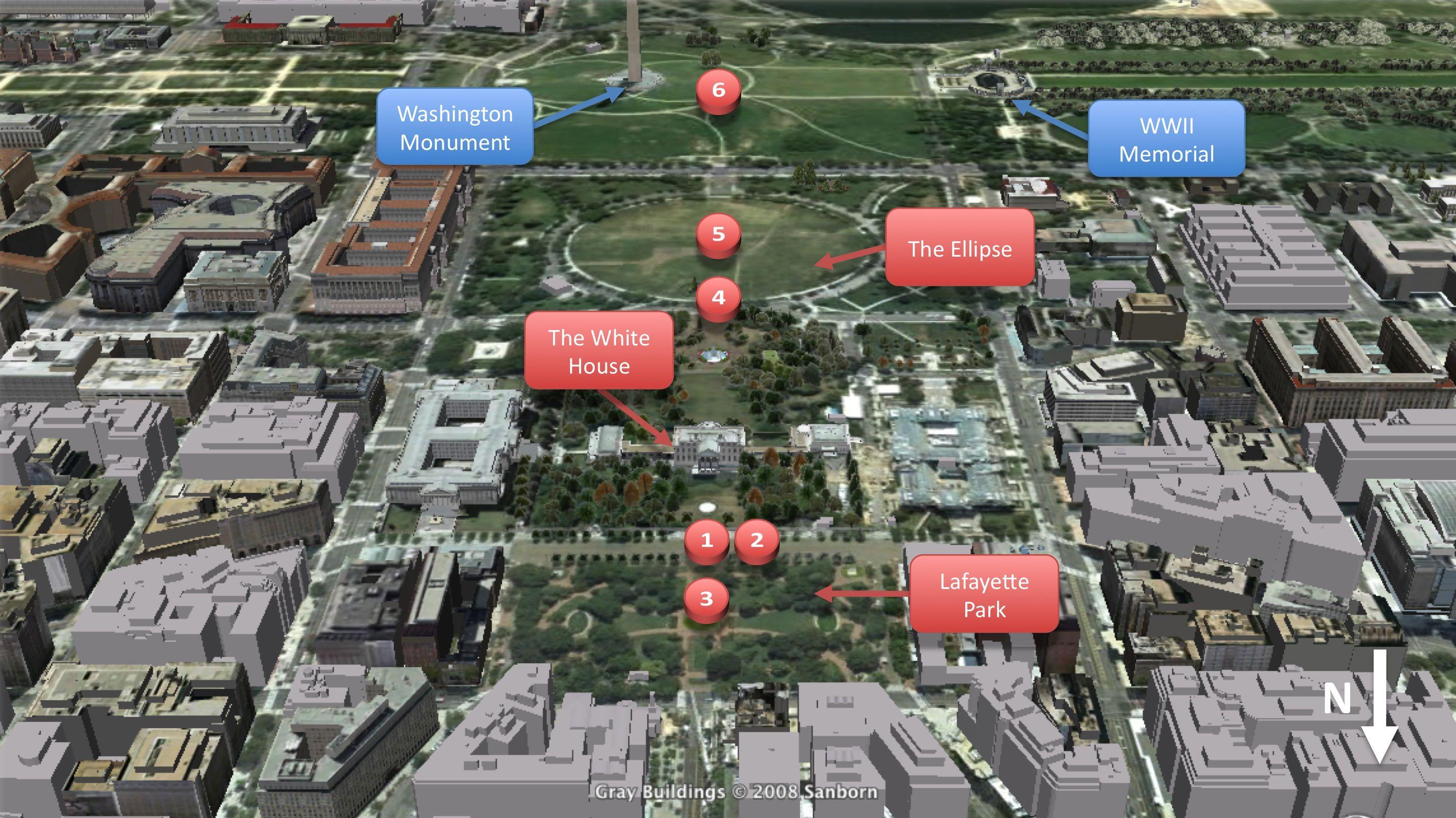 White House Map | White House Map | Scott F. Chittock\'s Washington ...