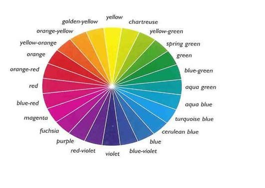Colour Wheel Color Wheel Color Theory Complementary Colors