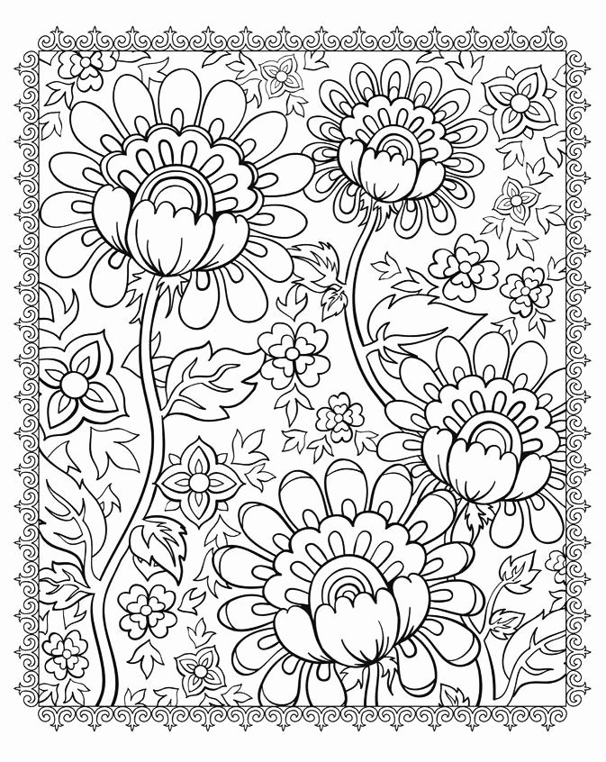 Complex Flower Coloring Pages Kids In 2020 Pattern Coloring Pages Coloring Pages Cool Coloring Pages