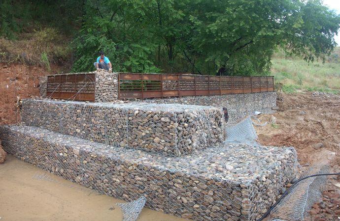 gaviones decorativos mil anuncios com para piedras 134526673 3 Muros de gaviones El blog de Víctor Yepes. »