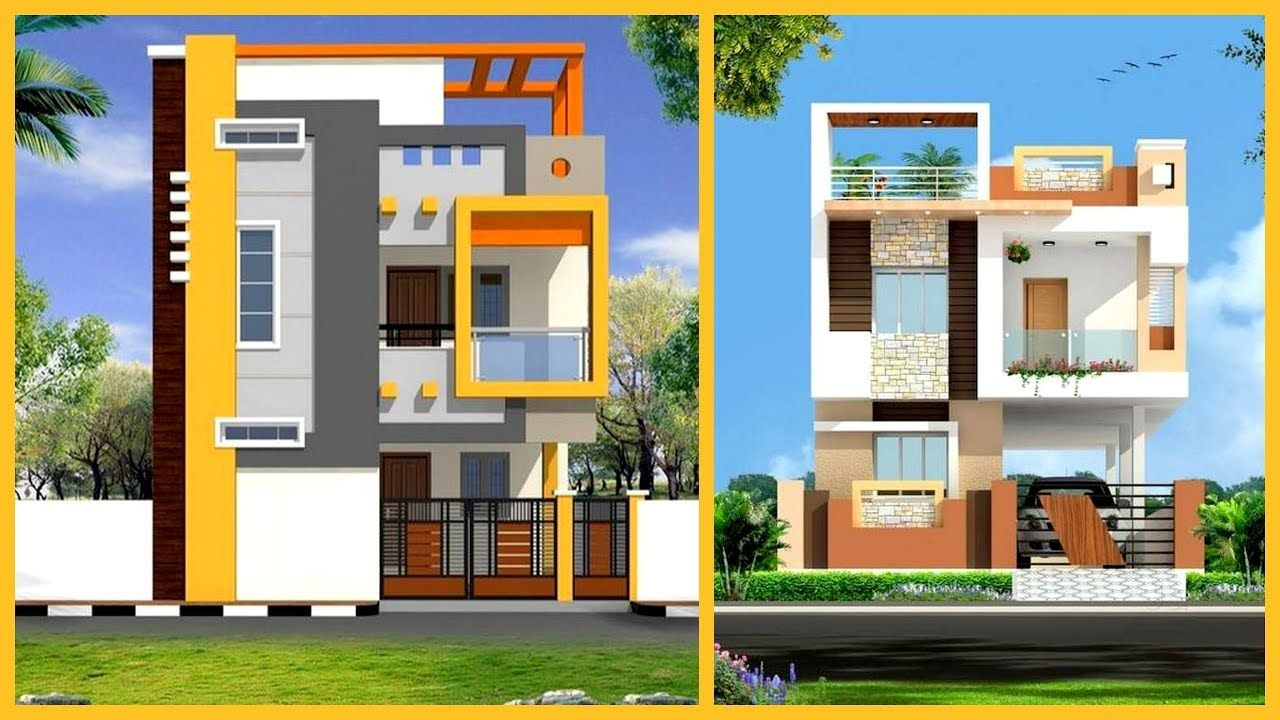 20 Pics Review House Elevation Designs For Double Floor And Description In 2020 House Elevation Duplex House Design Small House Elevation