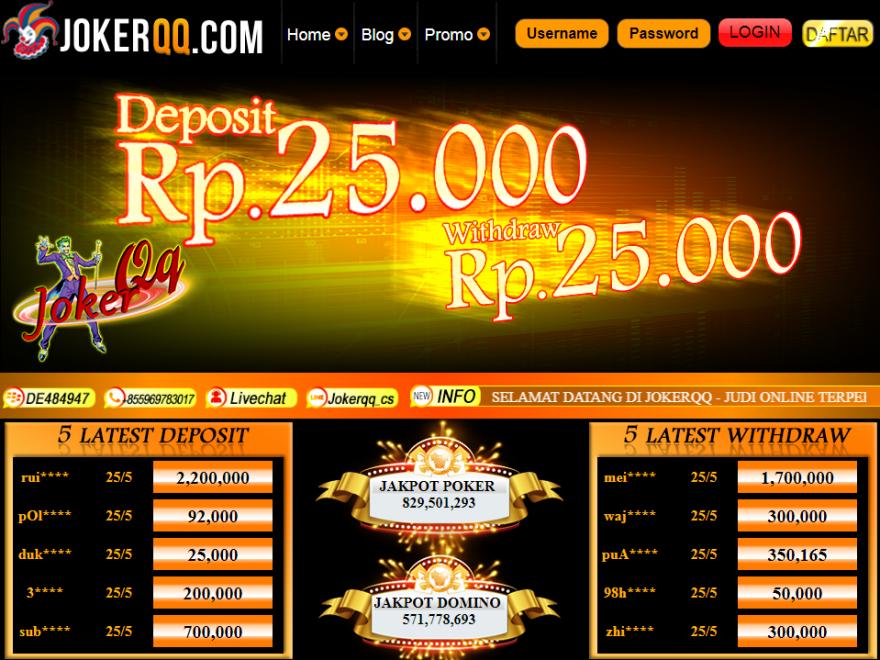 Pin Di Agen Judi Poker Online
