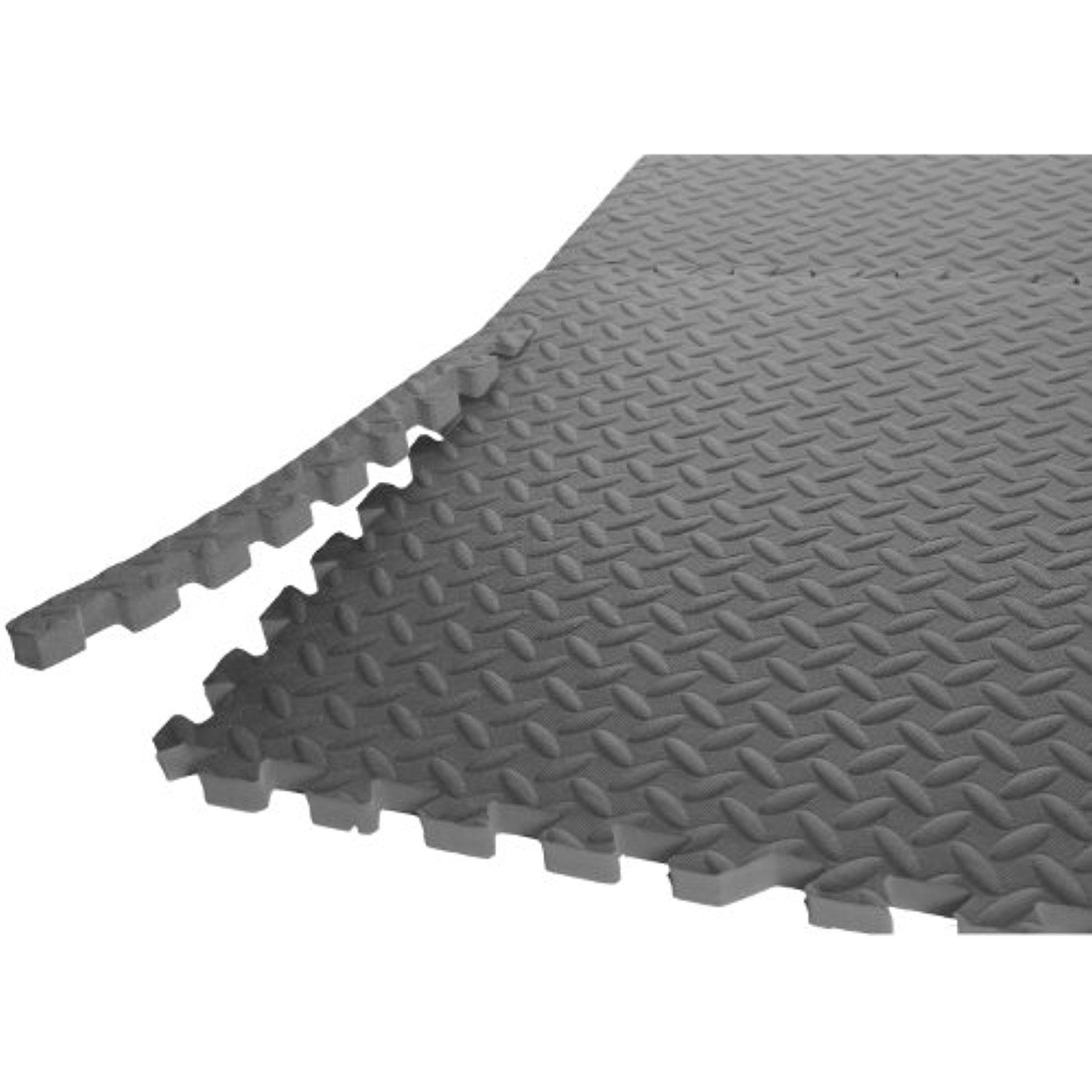 Cap Barbell 1 2 Puzzle Exercise Mat With Eva Foam Interlocking Tiles For More Information Visit Image Gym Flooring Garage Gym Flooring Gym Flooring Tiles