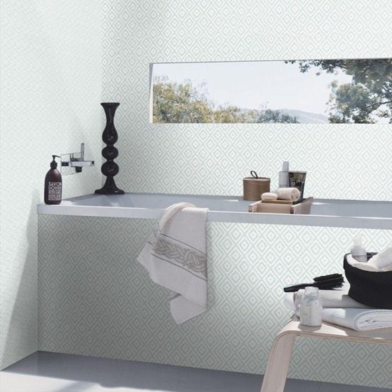 Tapete 700619 Rasch Gypso Jetzt Vliestapete Entdecken Badezimmer Tapete Badezimmer Modernes Badezimmer