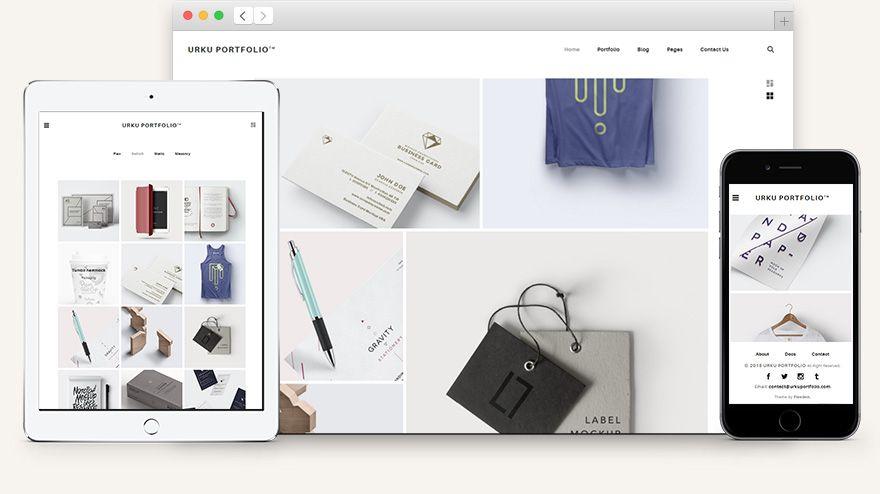 urku free html5 portfolio website template bestfreepsd mimi