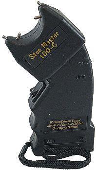 9fea2c47cdd Stun Master Stun Gun 100,000 volts Curved SKU: SM-100C   Eagle ...