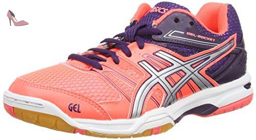 Asics Gel Rocket 7 Chaussures de Volleyball Femme
