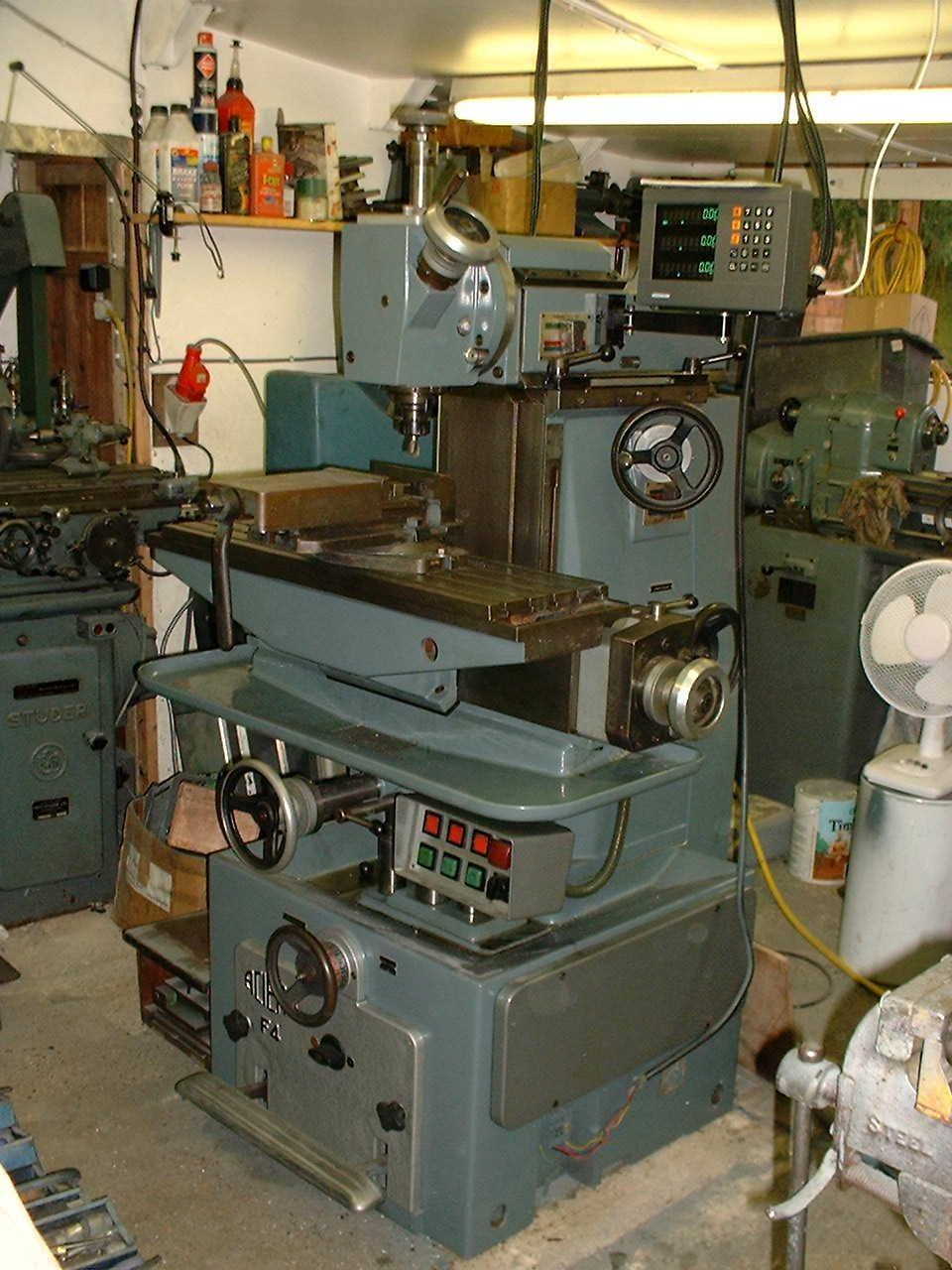 Milling Machines For Sale Used Metal Milling Machines >> Aciera Engineering In 2019 Used Milling Machine Machinist Tools