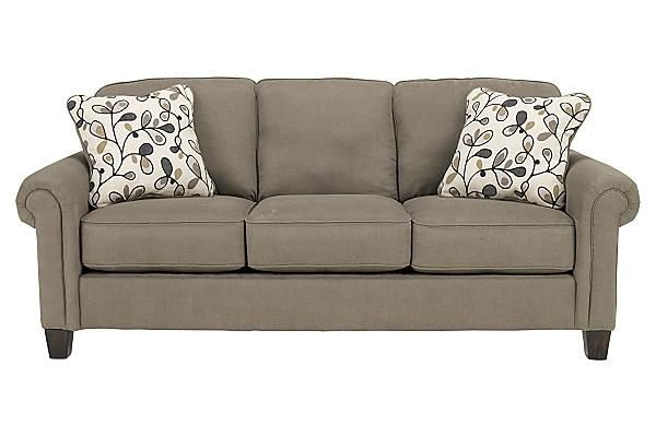The Gusti Dusk Queen Sofa Sleeper from Ashley Furniture