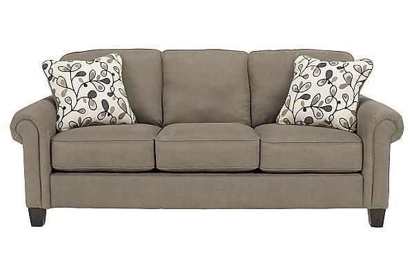 The Gusti Dusk Queen Sofa Sleeper from Ashley Furniture
