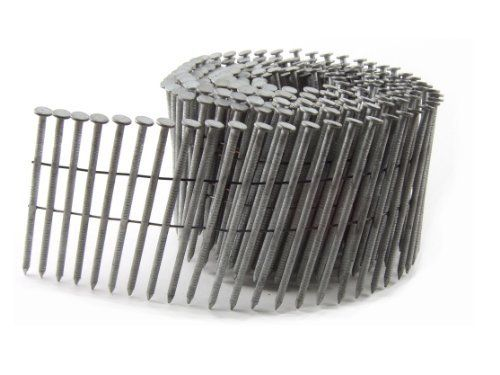 Airtoolsdepot Bc Eagle 314x120hdrc Round Head 3 1 4 Inch X 120 X 15 Degree Hot Dip Galvanized Ring Shank Wire Collated Coil Framing Nails