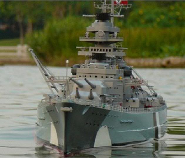 Rc Battleships | RC BATTLESHIP BISMARCK – INCREDIBLE SCALE