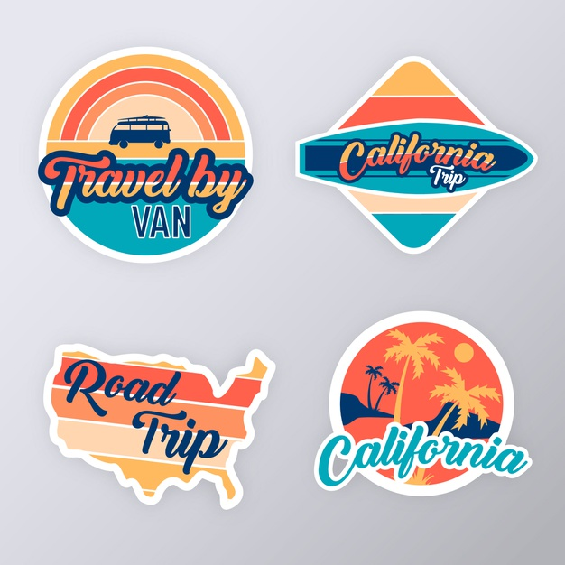 Stickers Retro Google Search In 2020 Travel Stickers Poster Vintage Retro Aesthetic Stickers
