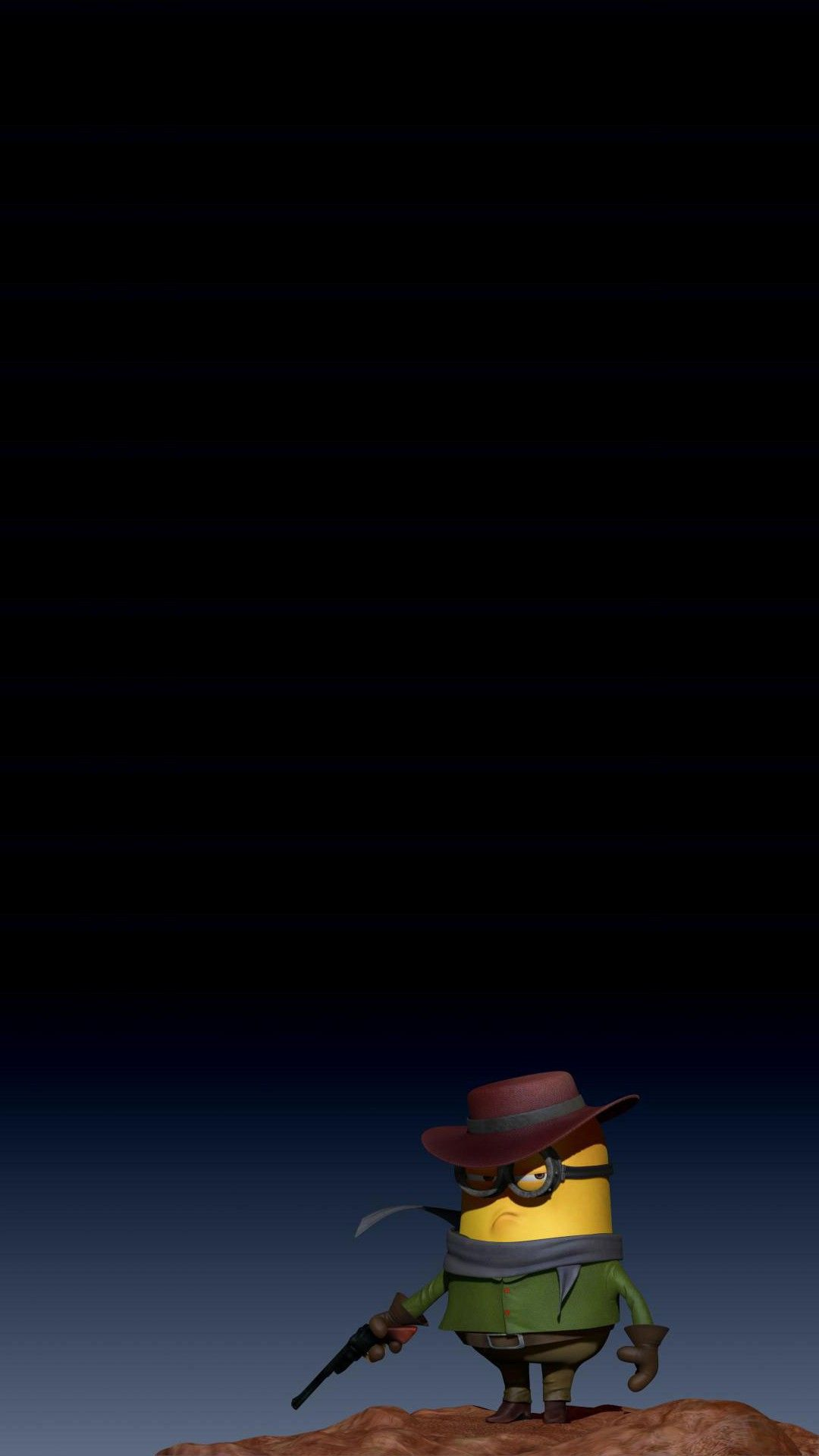 Parody Cowboy Minion Iphone 6 Plus Wallpaper Hd Despicable Me