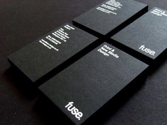 60 Tarjetas de presentación minimalistas   Minimal business card ...