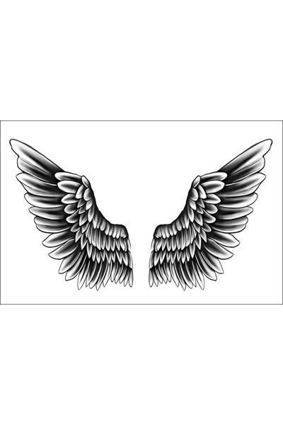 Justin Bieber Wings Temporary Tattoo Of Temporary Tattoos Neck Tattoo For Guys Back Tattoo Back Of Neck Tattoo
