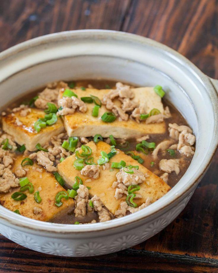 Chinese Braised Tofu With Ground Pork