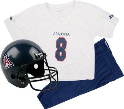 cf6d68e5 Arizona Wildcats Kids/Youth Football Helmet and Uniform Set ...
