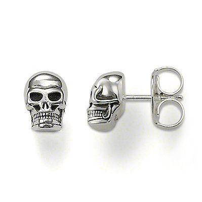Thomas Sabo Skull Stud Earrings