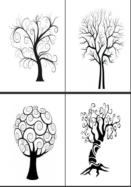 Page introuv e au secours arbres pinterest dessin arbre coloriage arbre et art plastique - Dessin arbre simple ...