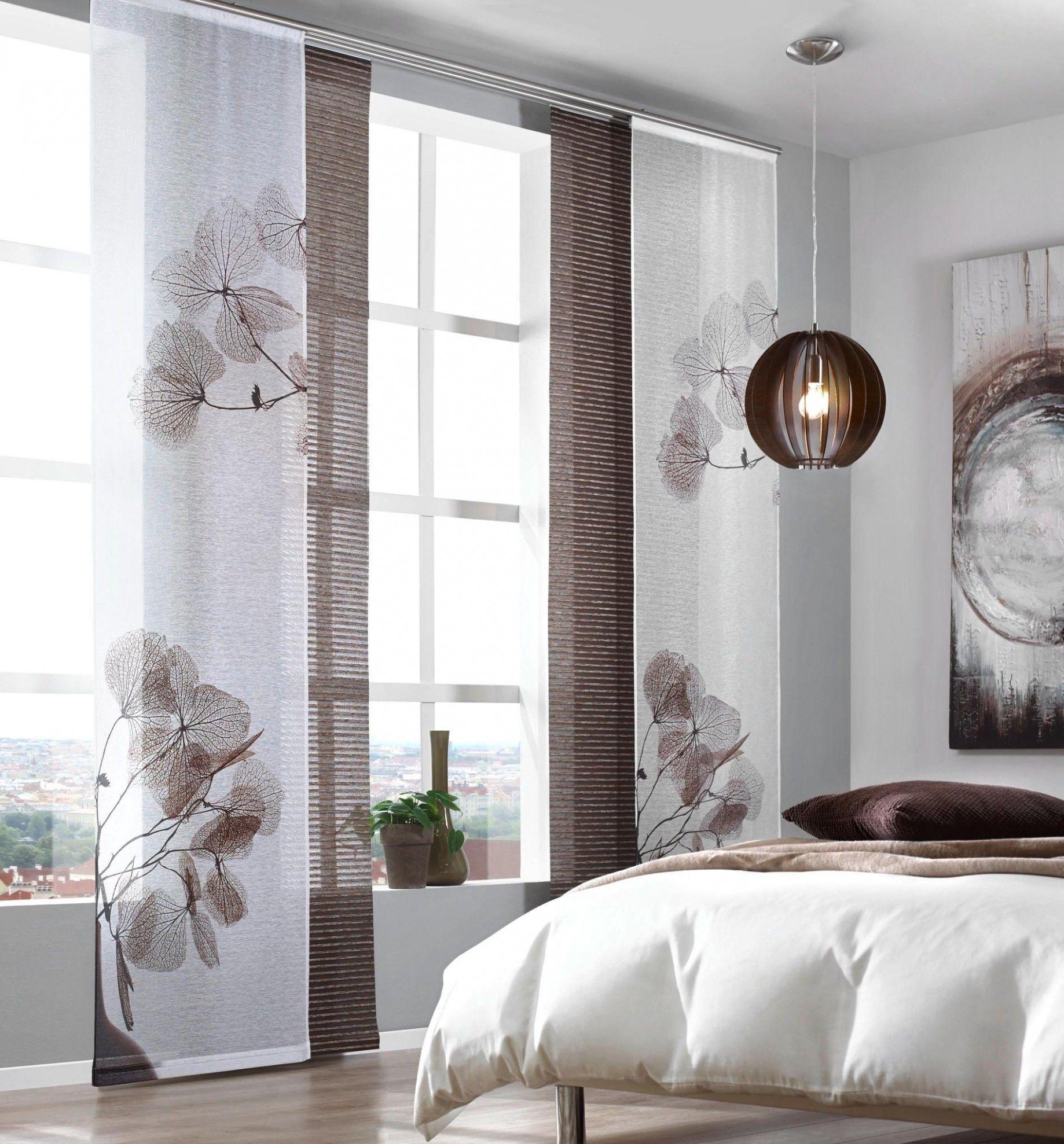 Vorhänge Schlafzimmer Braun