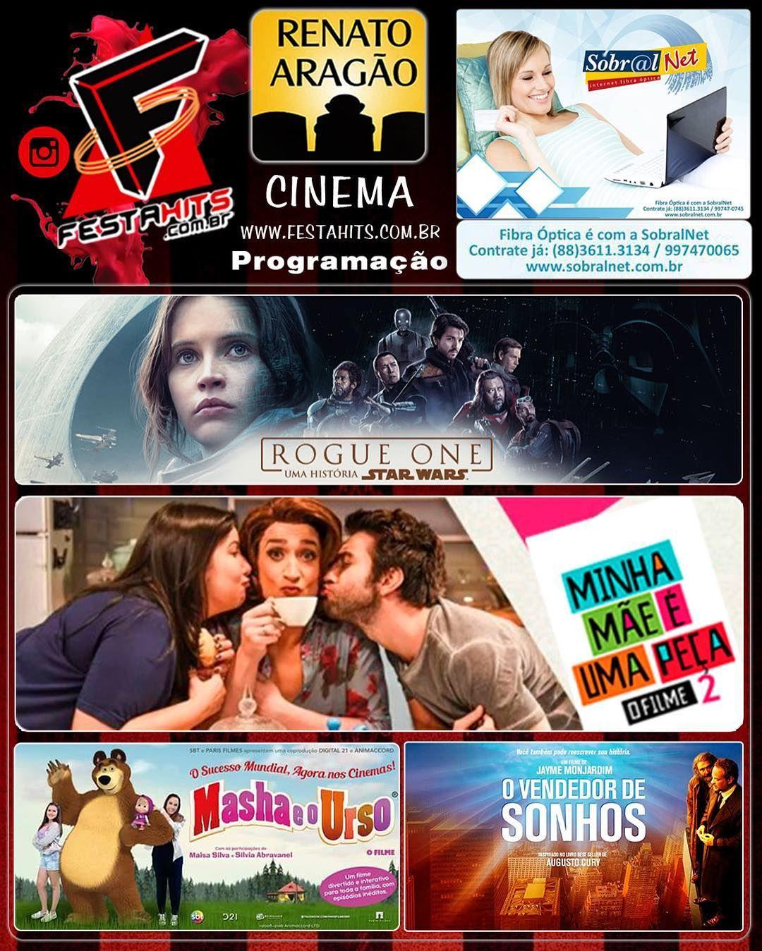 Confiram a Programação do Cine Renato Aragão do dia 21/12 à 28/12/16. A  Programação do Cinema ... | Masha e o urso, Cinema, Star wars
