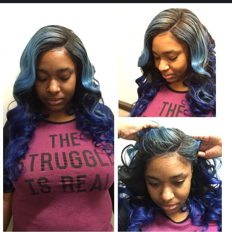 Winter Fresh Side Part Lace Closure Sewin Sew In Hairstyles