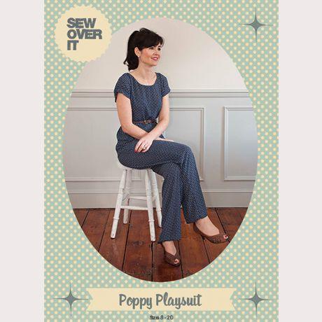 Poppy Playsuit PDF Sewing Pattern | Schnittmuster und Nähen