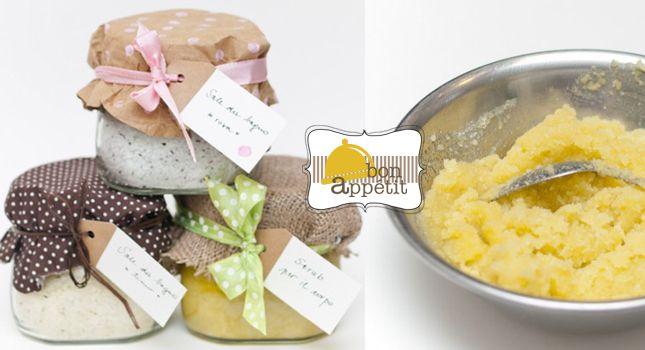 Ricetta Sali Da Bagno Fatti In Casa : Scrub fai da te gifts homemade gifts christmas