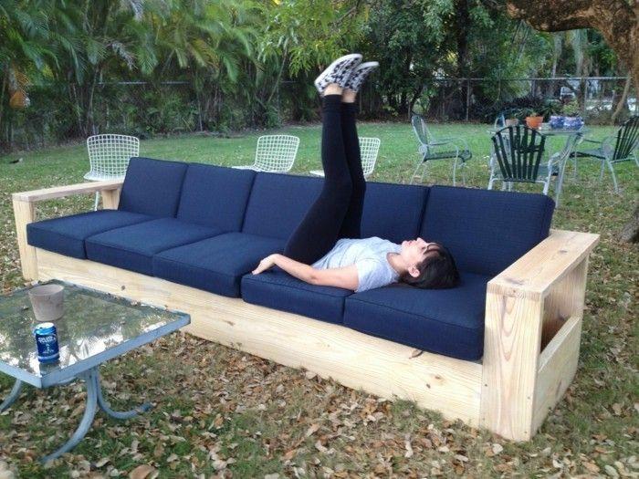 Sofa selber bauen - 70 Ideen und Bauanleitungen! - Archzine.net ...
