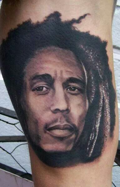 Tatuajes Bob Marley bob marley tattoo really well done! :) | yatted | pinterest