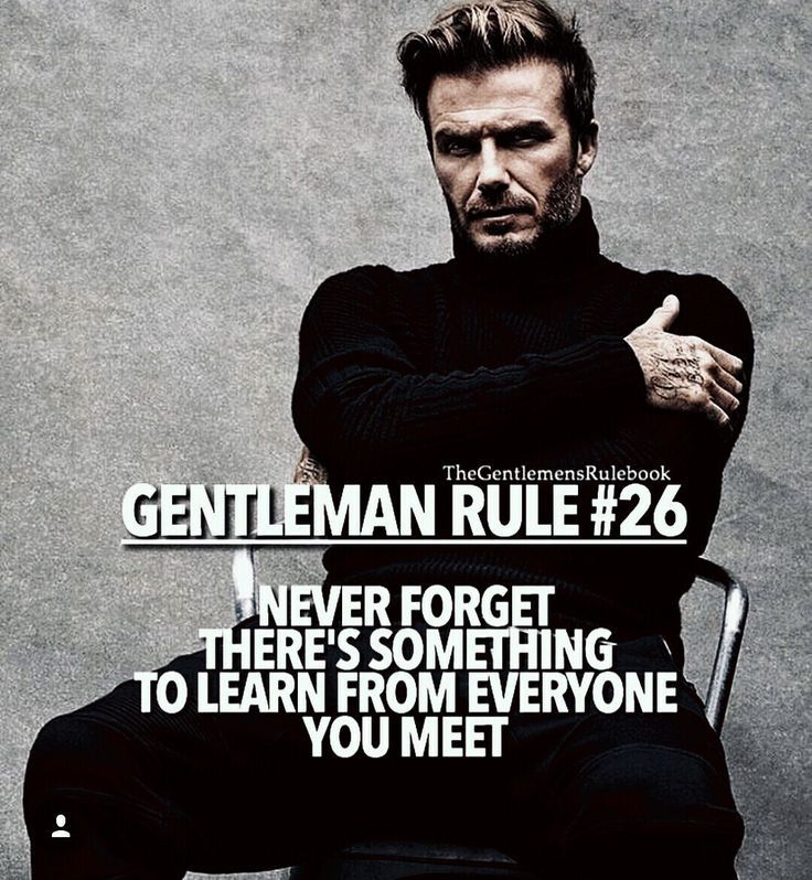 Pin by Maddy on Quotes  Pinterest  Gentleman rules, Qoutes and Gentlemens guide