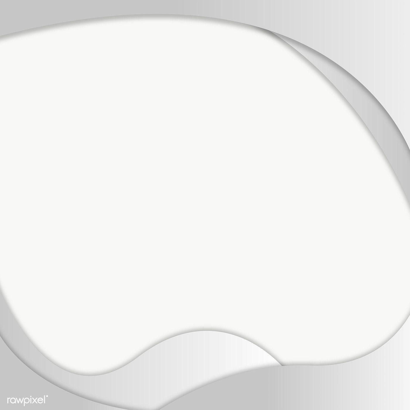 Gray Fluid Shape Frame Design Element Free Image By Rawpixel Com Mind Frame Design Design Element Frame
