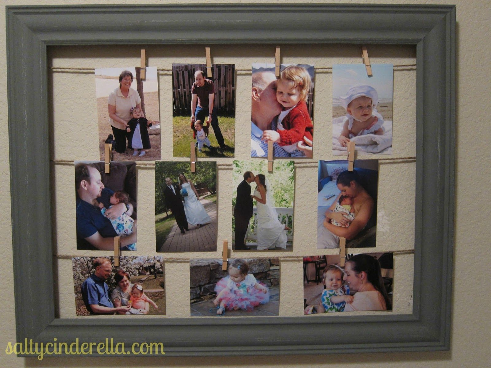open-backed frame (I bought mine from Hobby Lobby on clearance. It\'s ...