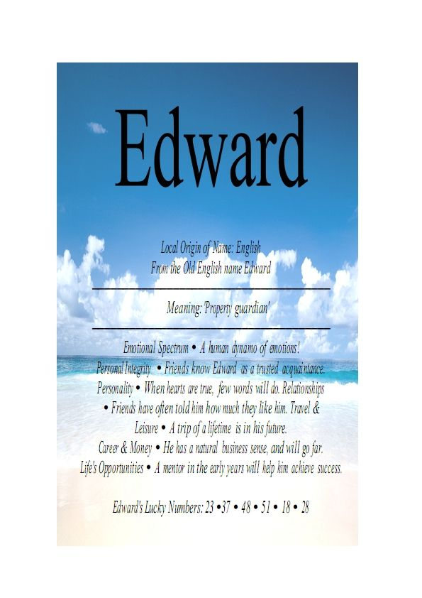 name Ed Name Means EverythingEdward » Name Means Everything - fresh invitation to tender law definition