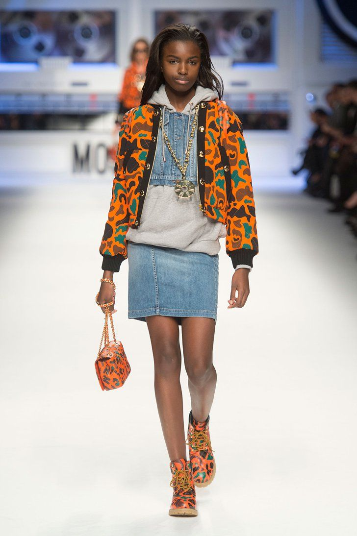 Pin for Later: You Can Actually Buy the Crazy Moschino Collection Right Now Moschino Fall 2015