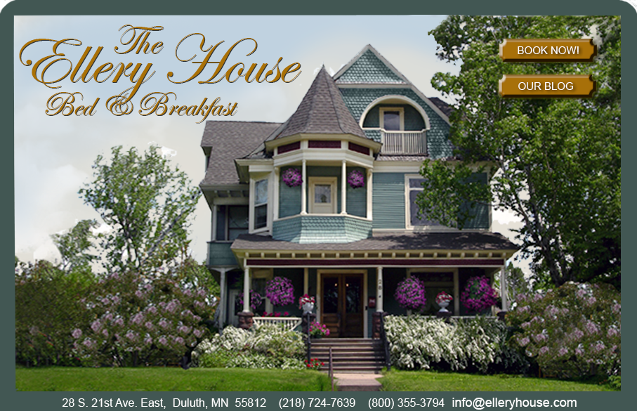 Elley House Bed & Breakfast Duluth, MN Bed and